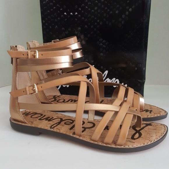 4fec67d5dc9 New Sam Edelman Ganesa Gladiator Sandals